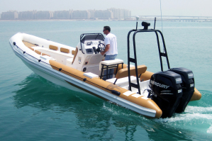 Single Cosole Boat with Front Seat