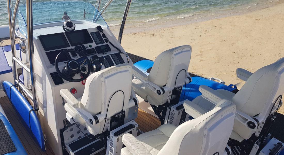 Double Jockey Console RIB Boat