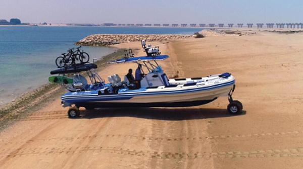 Fully Customized Amphibious Boat