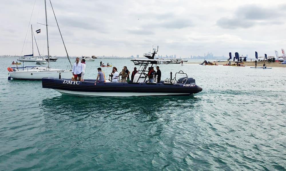 marina operators boat