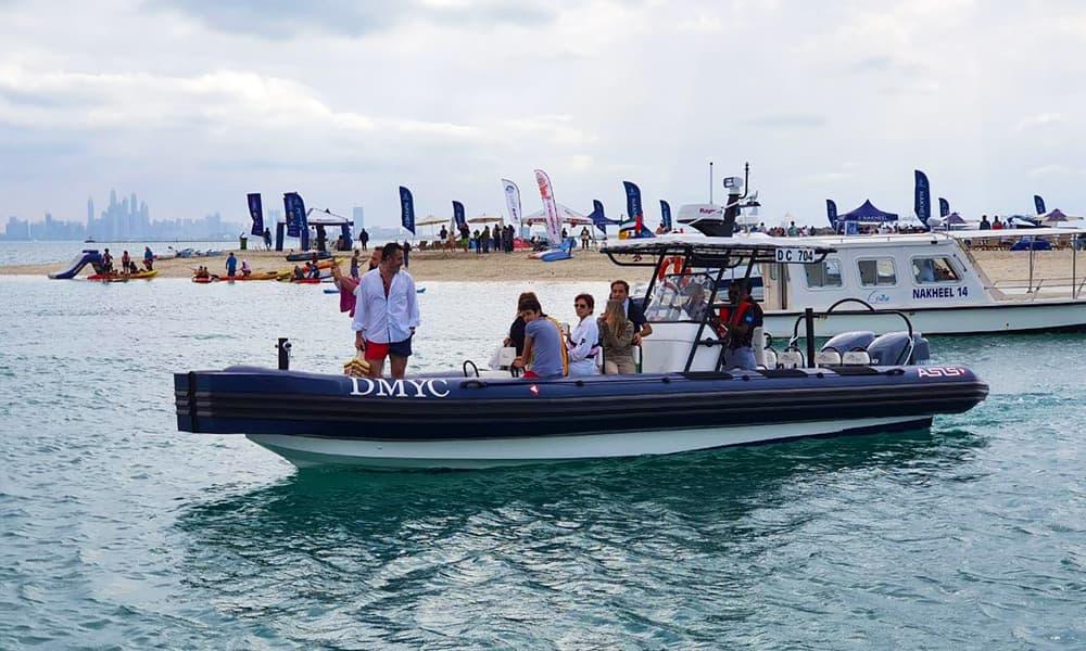 Marina Operators RIB Boat