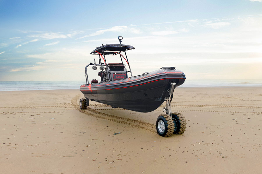 Experience the OCM Amphibious Boat