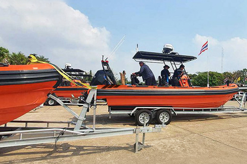 Patrol & Rescue RHIBs delivery