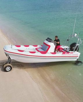 7.1m recreational amphibious craft