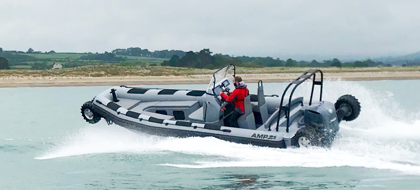 8.4m amphibious craft