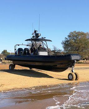mil-pro amphibious craft