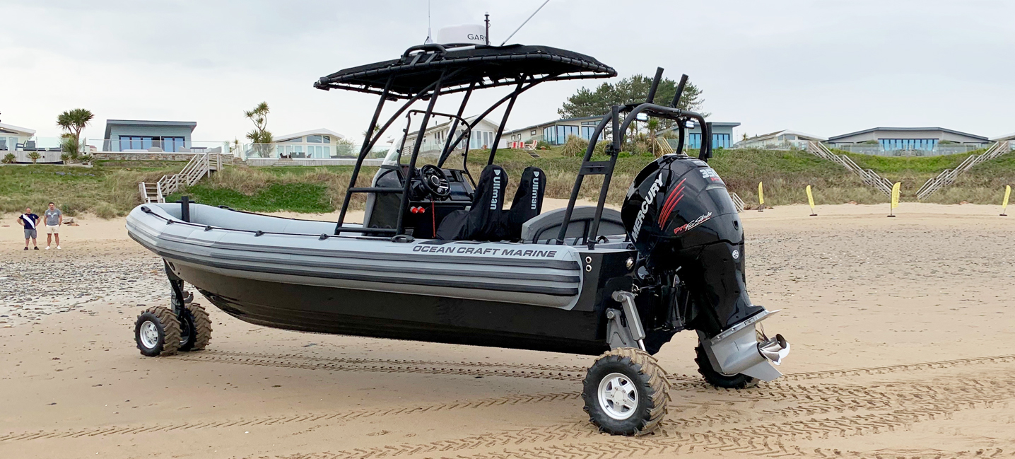 amphibious rigid inflatable boat 8.4m