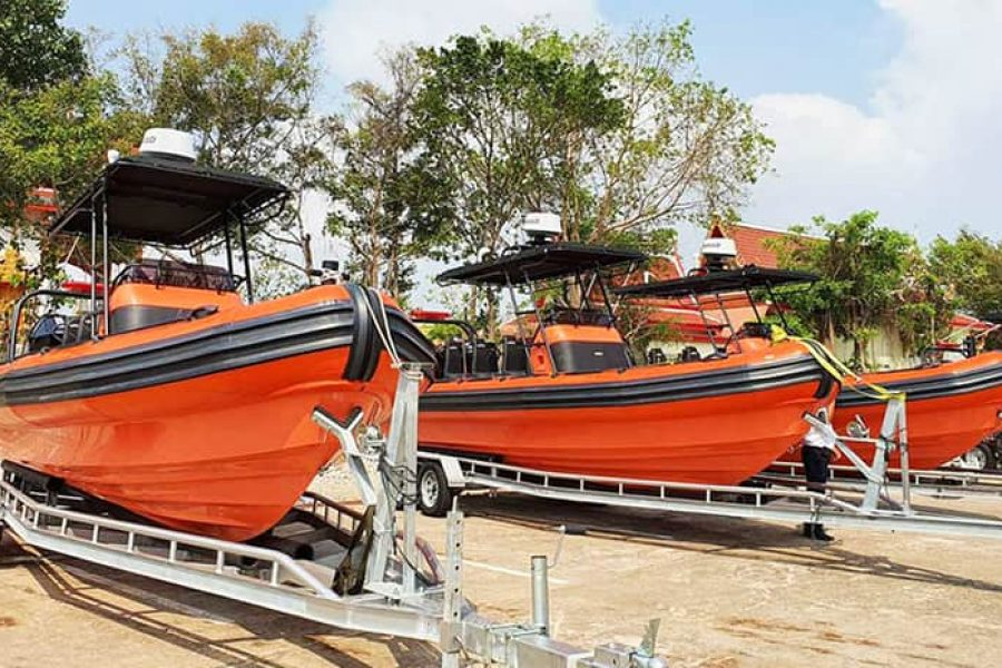 The best Rigid Hulled Inflatable Boats for Professionals