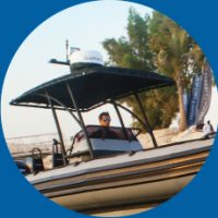 Amphibious Boat T-top & Canopies
