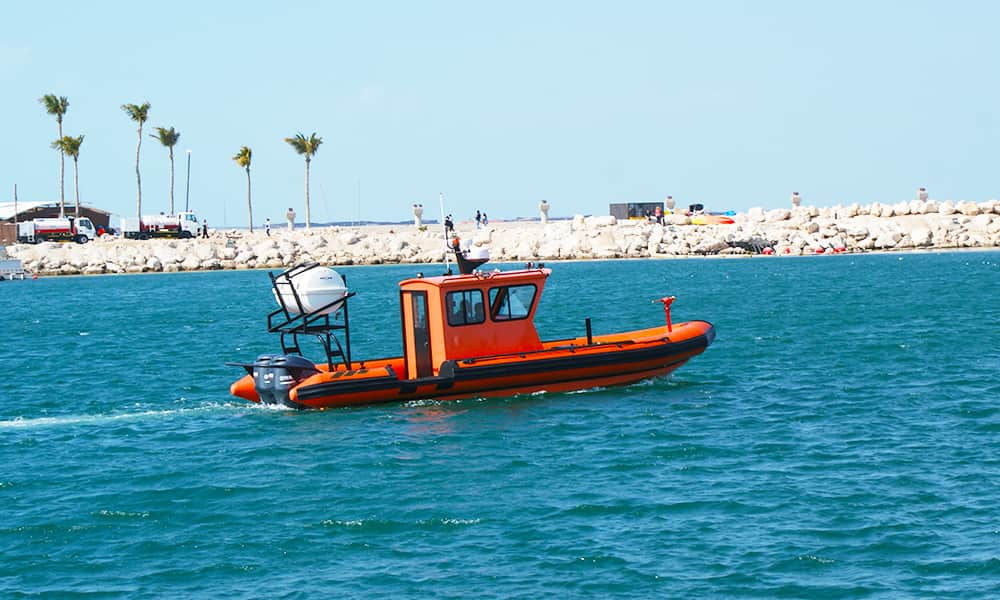 Firefighting Rigid Inflatable Boats
