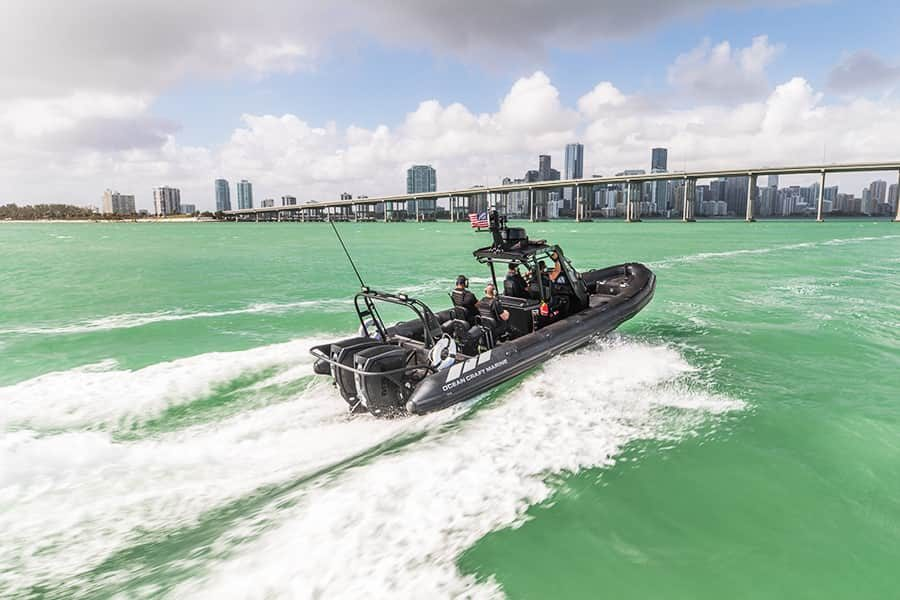 High Demand for Coast Guard RHIBs