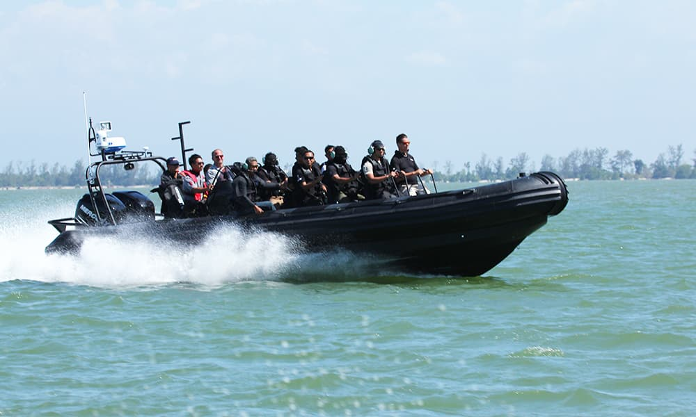 Special Ops & Anti-Piracy RIB Boat