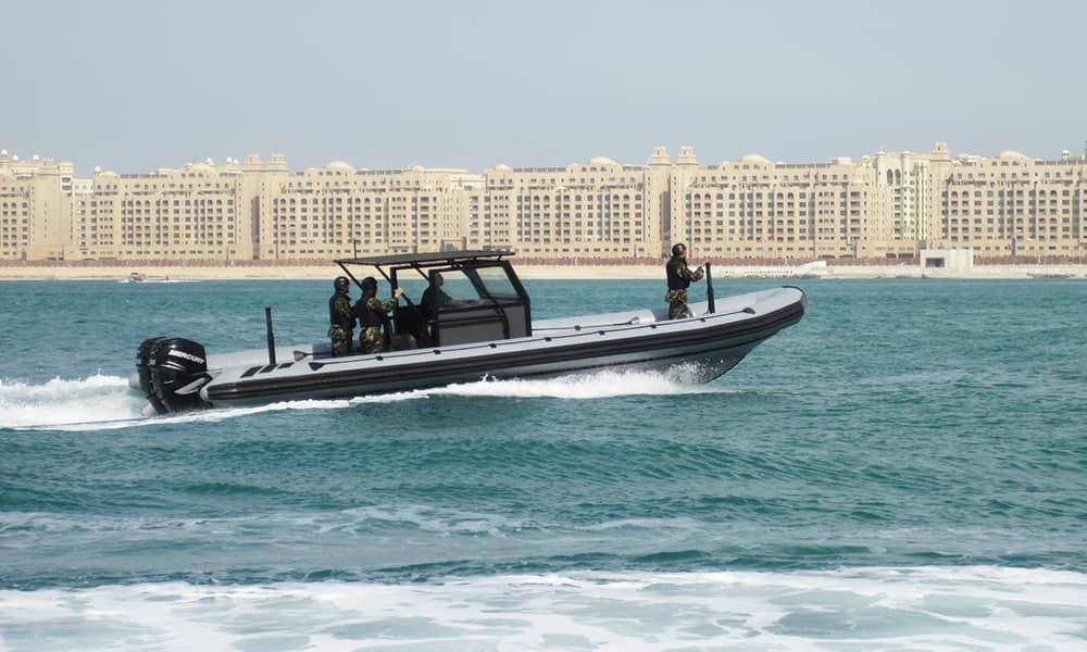 military rib boat