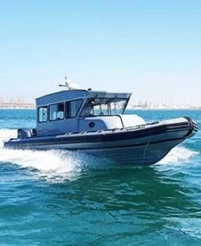 cabin boat 12m