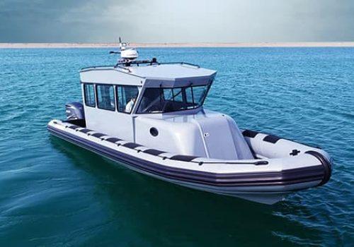 military cabin boat