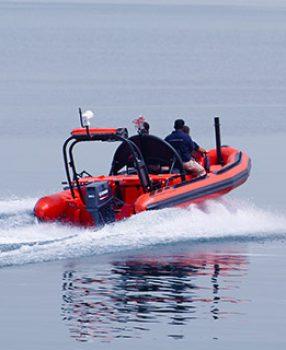 solas rescue boat