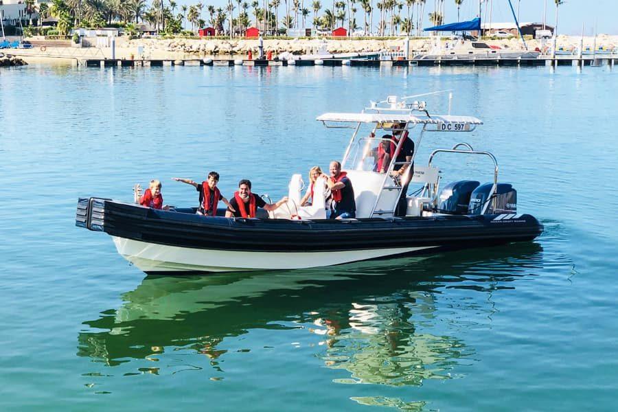 OCM's Unique Marina Operations Boat