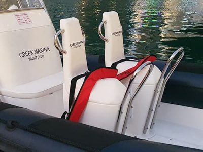 S.S Front Rail for Jockey Straddle Seat