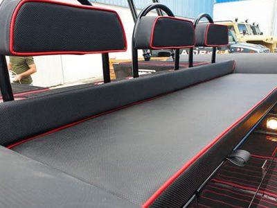 Triple Back Seat with-Swivel Backrest