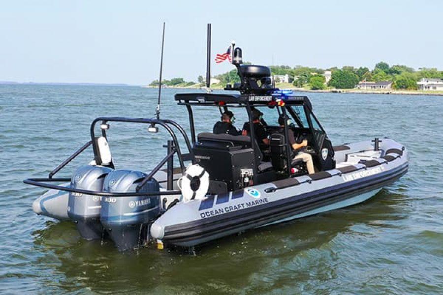 Federal Law Enforcement Boat on its way to NOAA – Hawaii