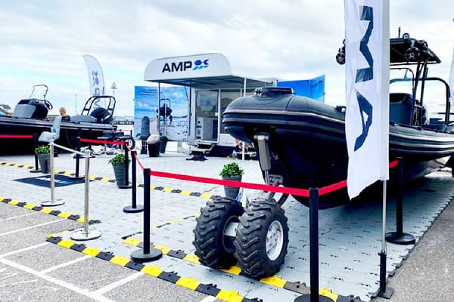 OCM AMP at the Southampton Boat Show 2021